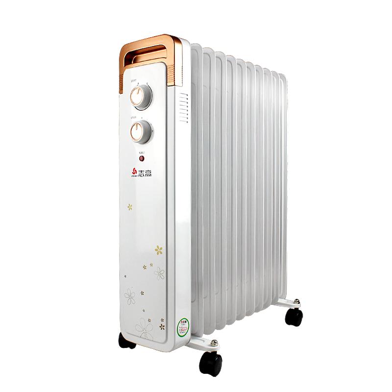 chigo/志高 取暖器电暖器节能省电电暖气 电油汀取暖器 家用电热油汀